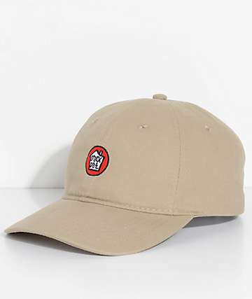 Stay Way High Crock Pot Khaki Strapback Hat