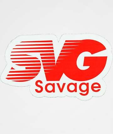 Stickie Bandits SVG Red Sticker