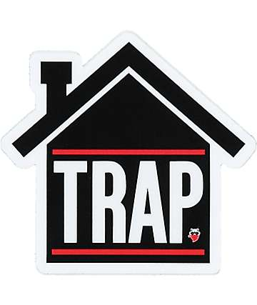 Sticky Bandits Trap Sticker