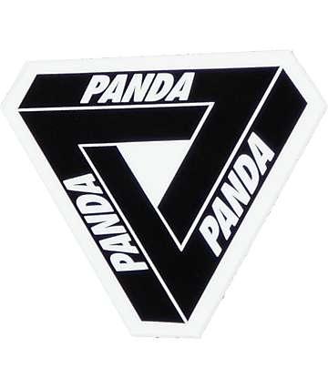 Sticky Bandits Tri Panda Sticker