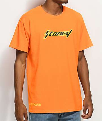 Stoney by Post Malone Stoney Orange T-Shirt