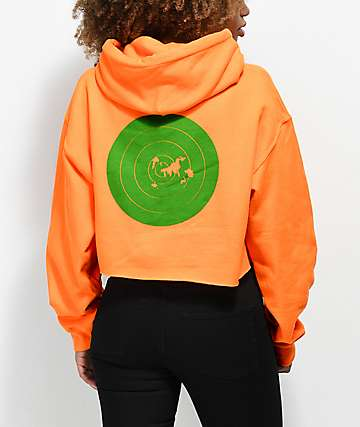Stoney by Post Malone Target Hunt Club Orange Crop Hoodie