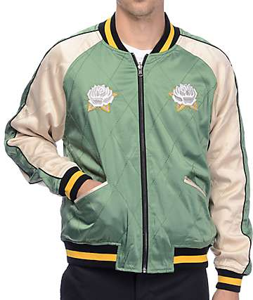 Straight To Hell Whole World Or Nothing Reversible Varsity Jacket