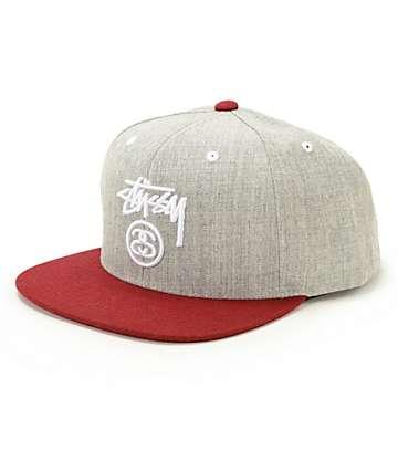 Stussy 2 Tone Snapback Hat