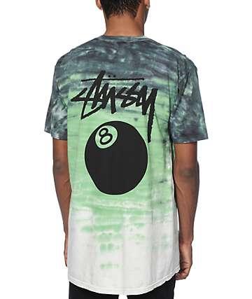 Stussy 8 Ball Tie Dye T-Shirt