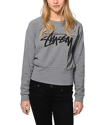 Stussy Fitted Crew Neck Sweatshirt