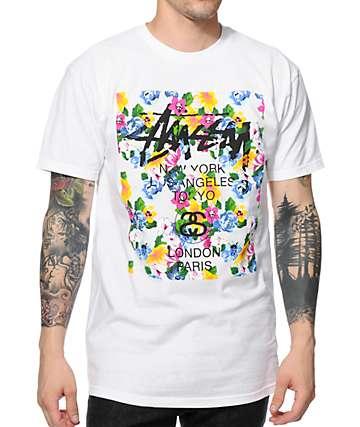Stussy Flower Block T-Shirt