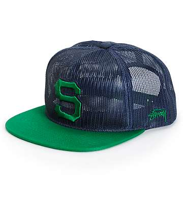 Stussy Full Mesh Trucker Hat