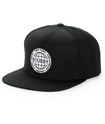 Stussy Globe Snapback Hat