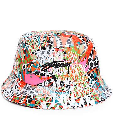 Stussy Jamrock Bucket Hat