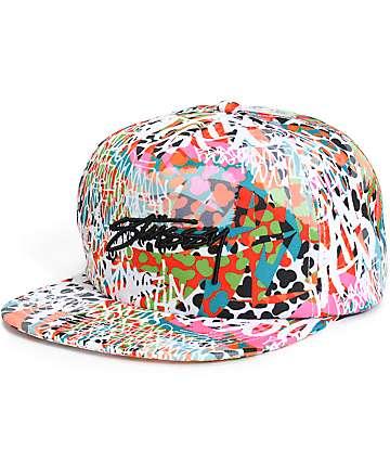 Stussy Jamrock Snapback Hat
