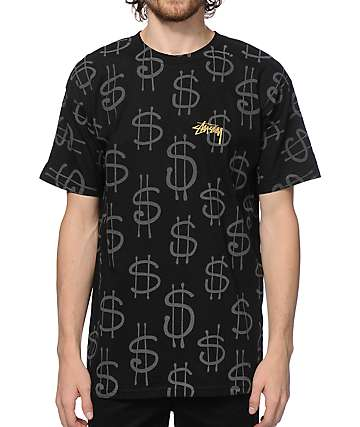 Stussy Money Reflective T-Shirt