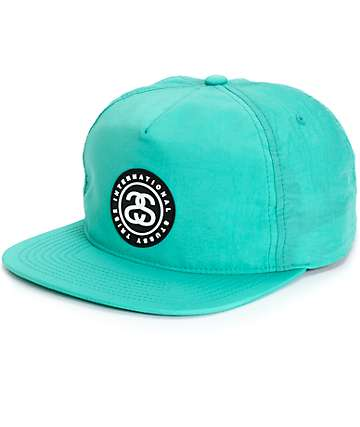 Stussy SS Link Rubber Patch Snapback Hat