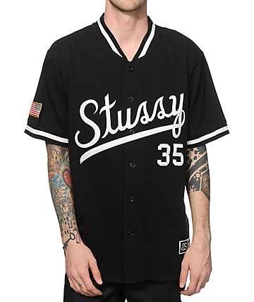 Stussy Script Baseball Jersey