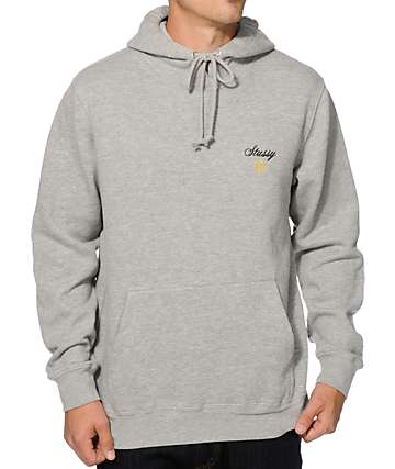 Stussy Script International Embroidery Hoodie
