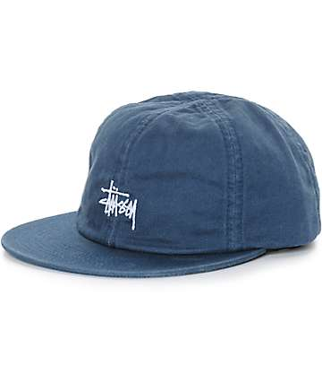 Stussy Smooth Herringbone Strapback Hat