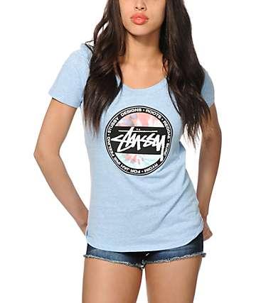 Stussy Spiral Tie Die Dot T-Shirt