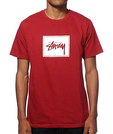 Stussy Stock Box T-Shirt