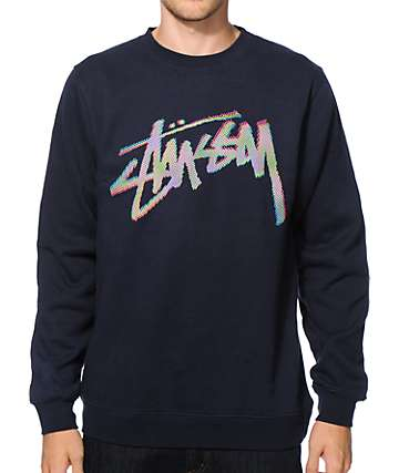 Stussy Stock CMYK Crew Neck Sweatshirt