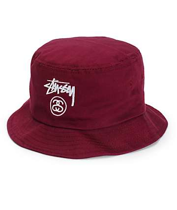 Stussy Stock Lock Bucket Hat