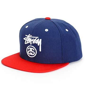Stussy Stock Lock Snapback Hat