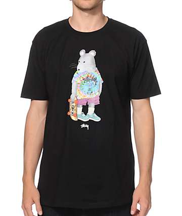 Stussy Tie Dye Rat T-Shirt
