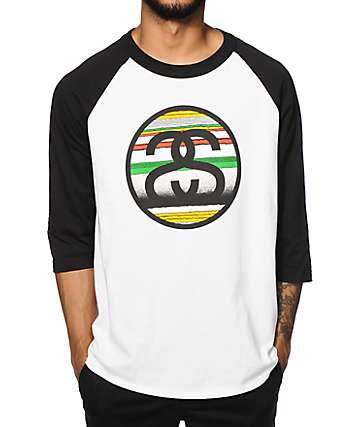 Stussy Tom Tom Link Baseball T-Shirt