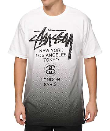 Stussy World Tour Mesh T-Shirt