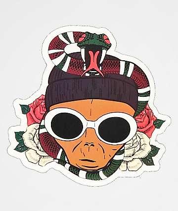 Succ Mayo Snake Sticker