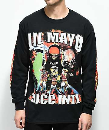 Succ No Limit Black Long Sleeve T-Shirt