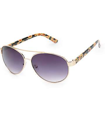 Sunflower Aviator Sunglasses
