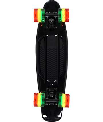 "Sunset Black Rasta 22"" Cruiser Complete Skateboard"