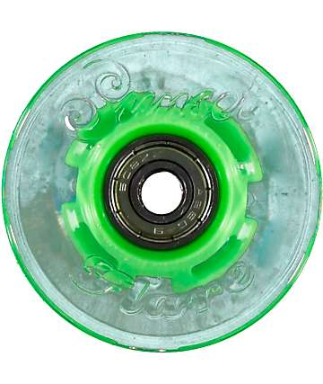 Sunset Flare 59mm LED Cruiser Wheels