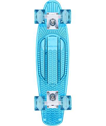 "Sunset Ocean 22"" tabla de skate cruiser completo"