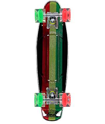 "Sunset Rasta Gripped 22"" Cruiser Complete Skateboard"