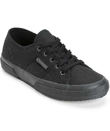 Superga Cotu Classic Full Black Shoes