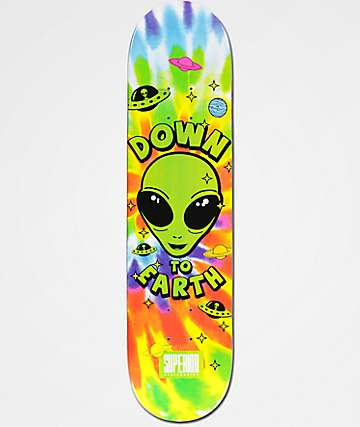 "Superior Down To Earth 7.75"" tabla de skate"