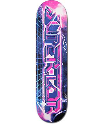 "Superior Odyssey Logo 8.0"" Skateboard Deck"