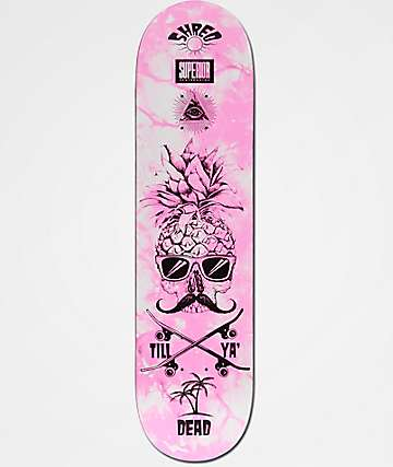 "Superior Pineapple Shred 8.0"" tabla de skate"