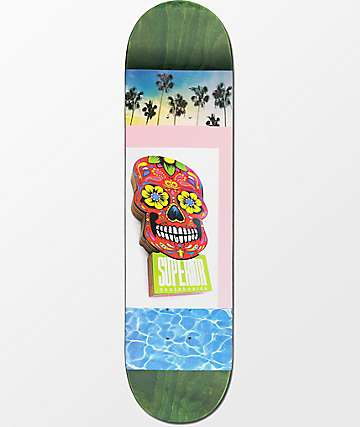 "Superior Pool Party 8.0"" Skateboard Deck"