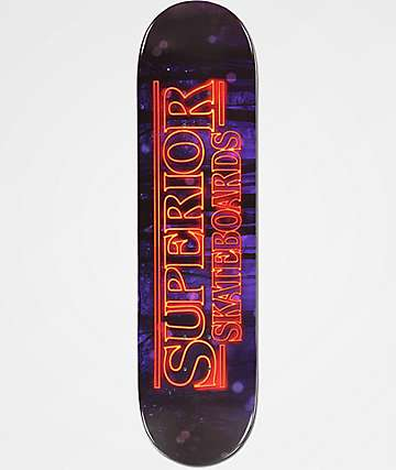 "Superior Stranger Boards 8.0"" tabla de skate"