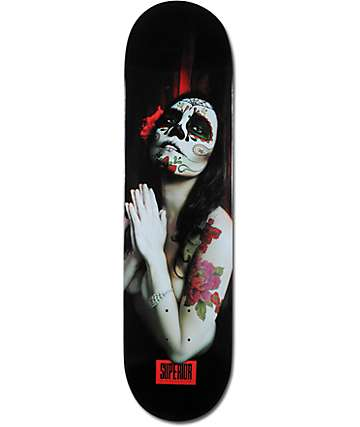 "Superior Sugar Rosa 8.1""  Skateboard Deck"