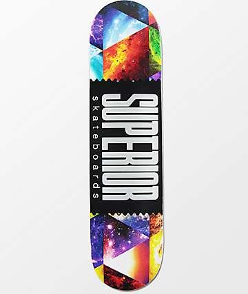 """Superior Universe Wrap Logo 7.75""""  Skateboard Deck"""
