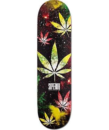"Superior Weed Galaxy 8.25"" Skateboard Deck"