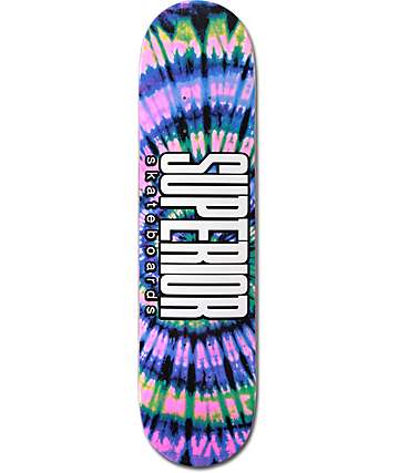 "Superior Zone 7.75"" Skateboard Deck"