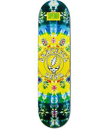 "Superior x Grateful Dead Goodness 7.75"" Skateboard Deck"