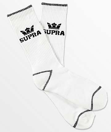 Supra  Crown calcetines blancos