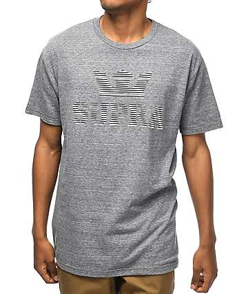 Supra Above Heather Grey Logo T-Shirt