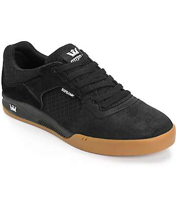 Supra Avex Oiled Suede Skate Shoes