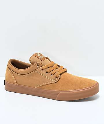 Supra Chino Ostrander Tan & Gum Skate Shoes